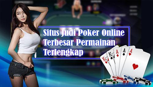 Website Poker Online Indonesia Terpercaya